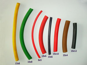 Natural rubber tube