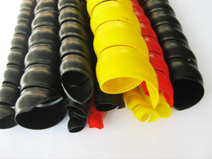Spiral protective hose sleeve
