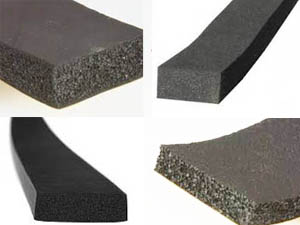Sponge Rubber Strip ( Without Tape )